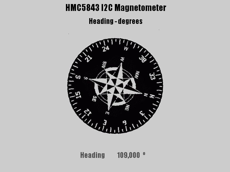 HMC5843magnetometer