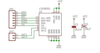 LIS302dlschematic