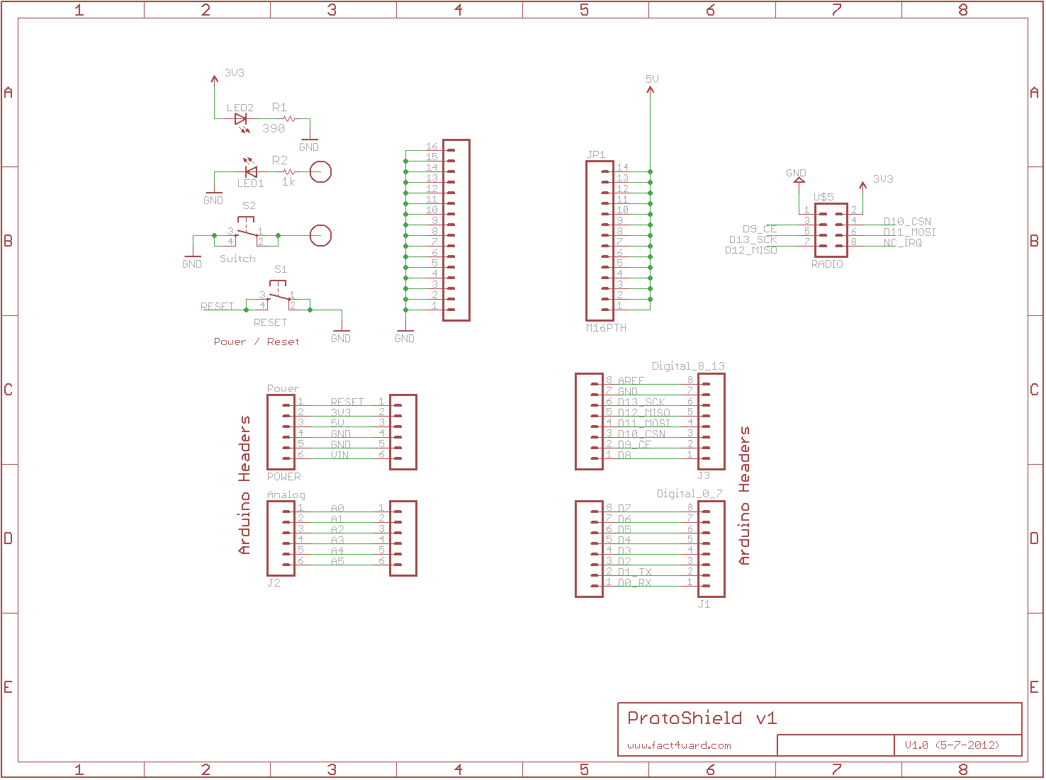 NRF24L01plus schematic