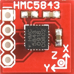 aeroquad shield HMC5843 front