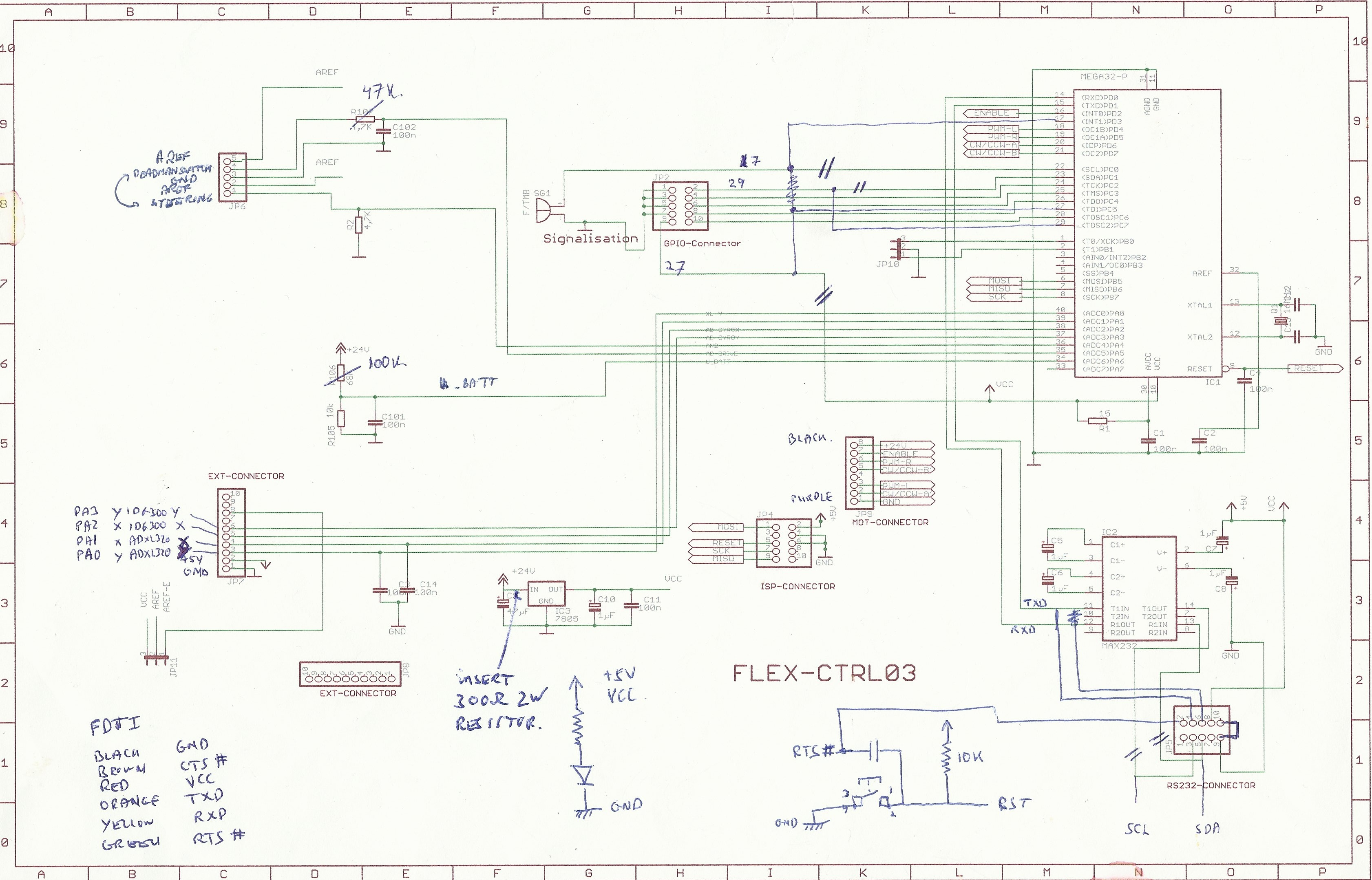arduino gyro wiring diagram hexacopter wiring diagram
