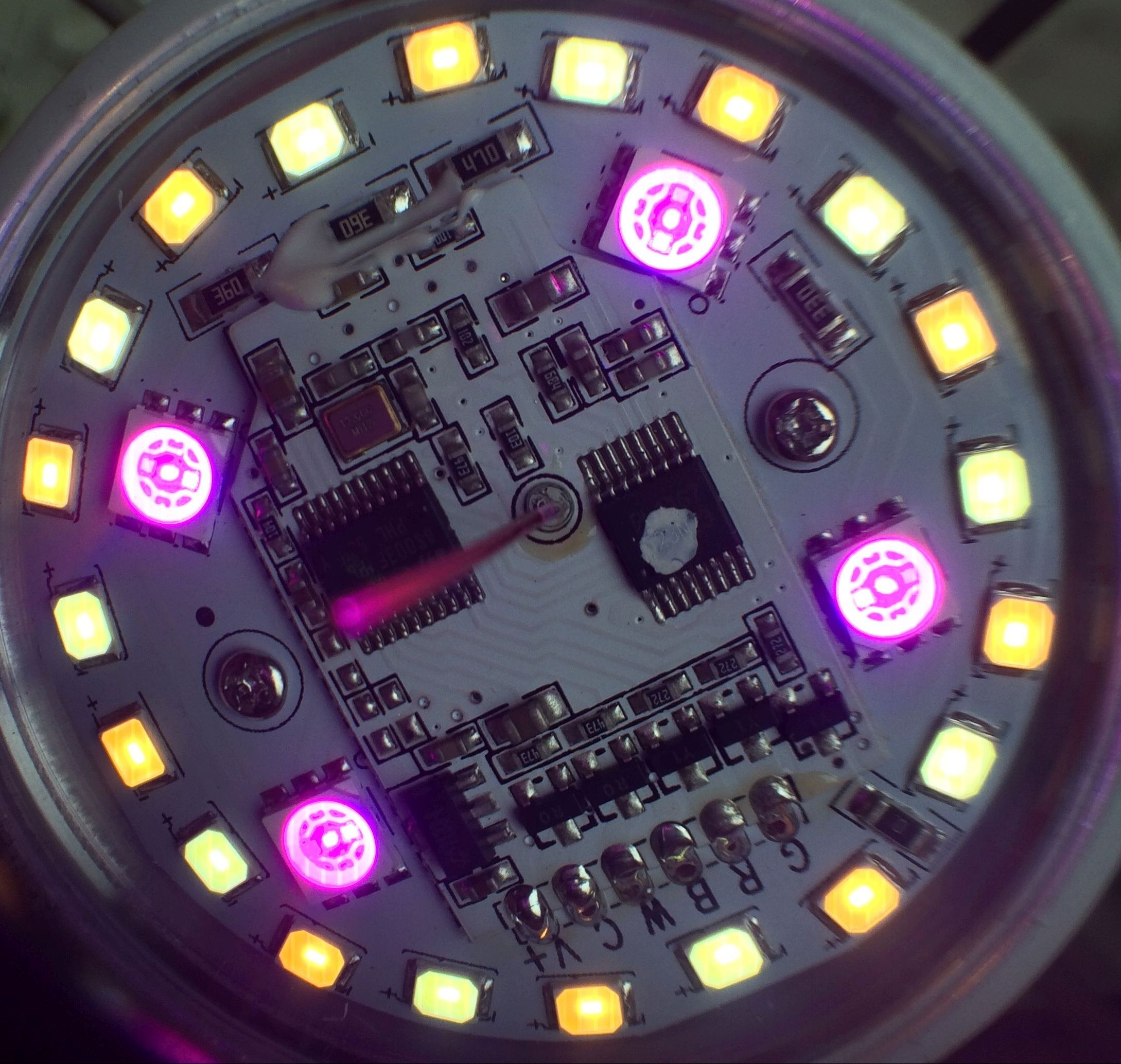 Milight New Protocol Arduino Projects4u Charlieplexing Led Amp Code Bulb On