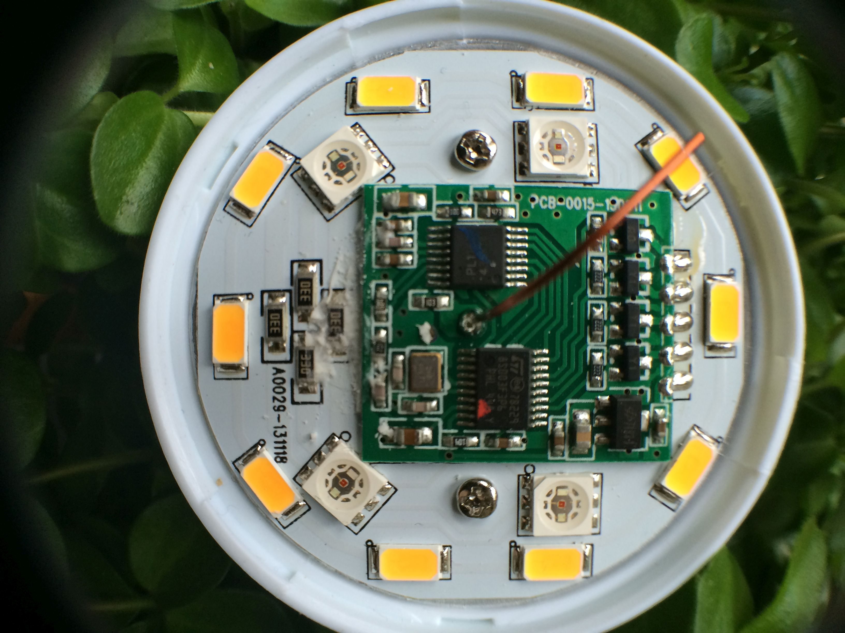 Controlling Milight Like The Philips Hue Using A Modified Arduino Temperature Sensor Wiring In Addition Headphone Lifier Circuit Bulb Old Nrf24l01 Proto