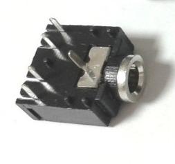 3 5mm pcb mountable 5 pins stereo female audio jack socket