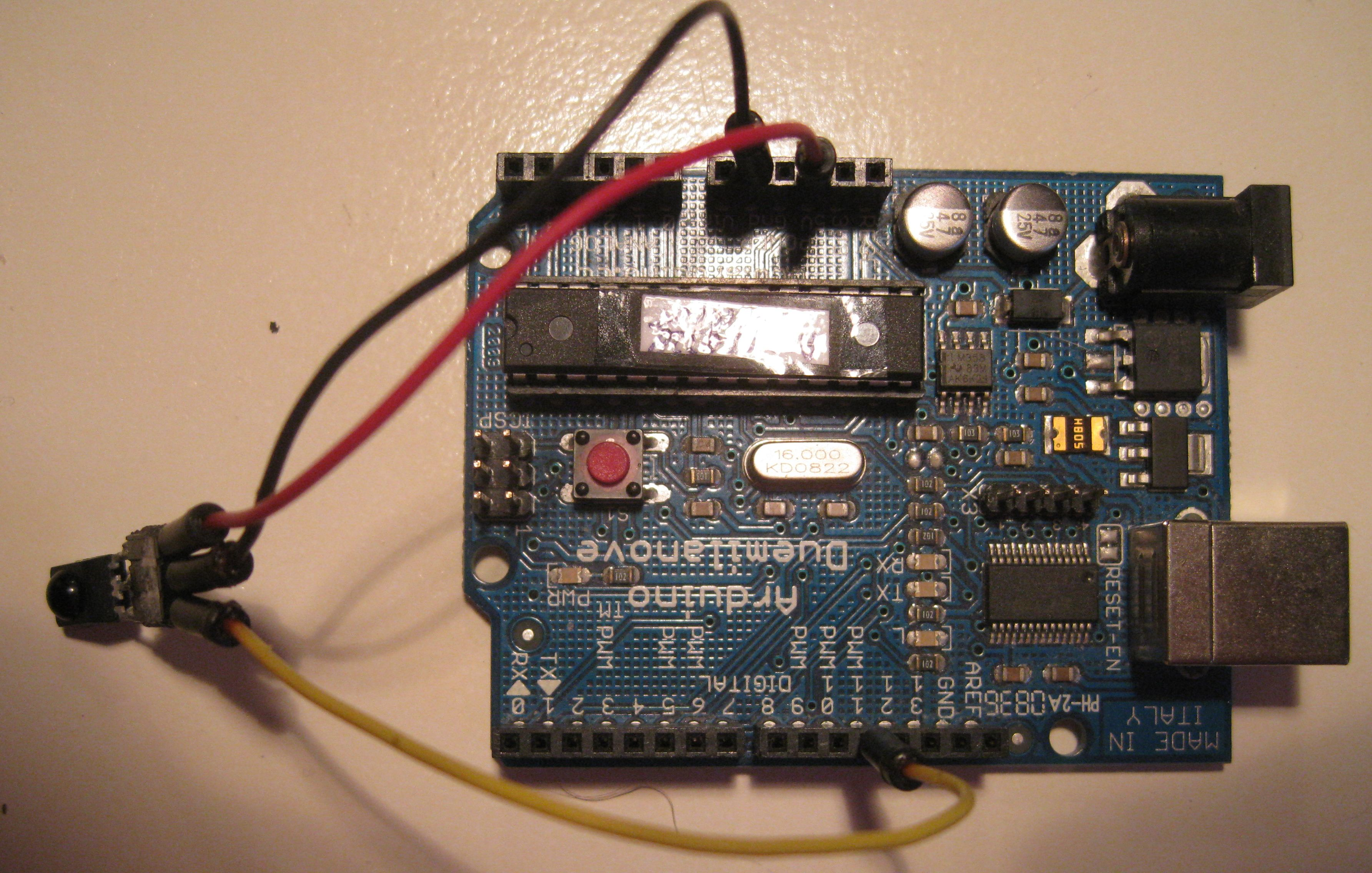 The Tsop1838 Is An Ir Receiver Modules For Remote Control Systems Planet Arduino Tsop1838arduino